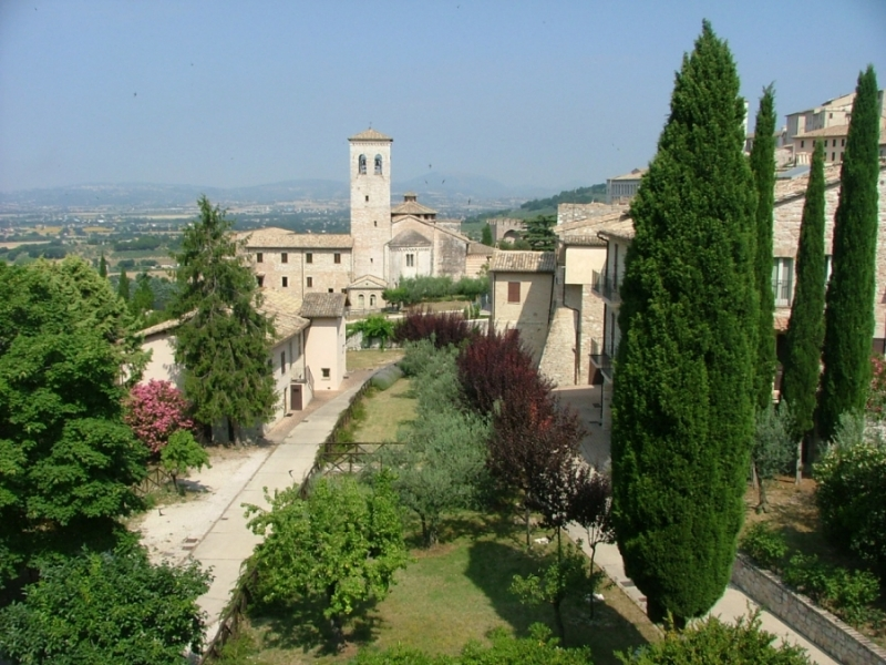 Monastery of SANTA COLETTE in Assisi (Perugia)